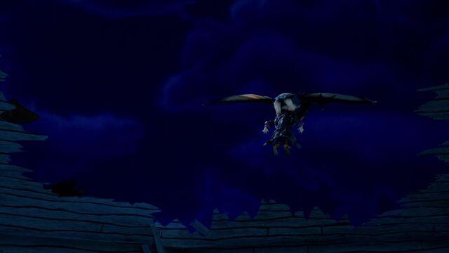 File:S02E11-Christmas Pterodactyl removes Wizard.jpg