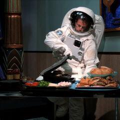 Why an astronaut?
