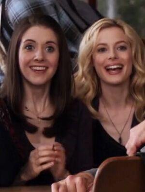 Britta and Annie in Season One