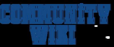 Community font