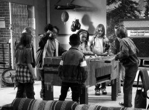 3X9 Big Cheddar ruling the foosball table