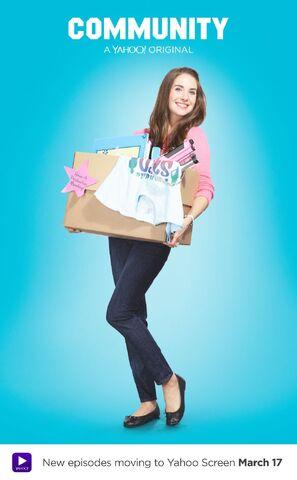 File:Community Season Six Annie Edison promotional poster.jpg