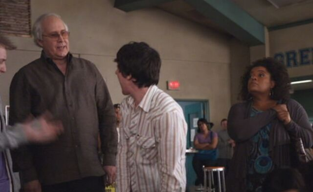 File:S01E22-Shirley and Pierce pants the high schoolers.jpg