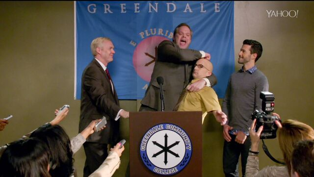 File:6x4 Dean Pelton comes out at the press conference.jpg
