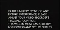 BBC Video Warning Screens
