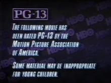 HBO PG-13