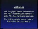 Third CIC Video warning screen (variant)