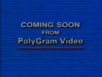 Coming Soon from PolyGram Video (1994)