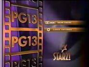 Starz PG-13 rating bumper (1996-2002)