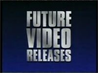 CIC Video Future Video Releases 1991 Bumper