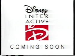 DISNEY INTERACTIVE COMING SOON ID