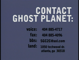Third Visit or Contact Ghost Planet ID