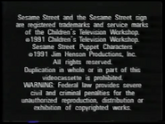 Random House Home Video Sesame Street Start To Read Video Copyright Bumper (1991 Variant)