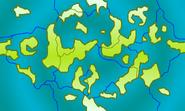 Sworld land water borders