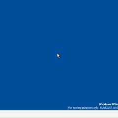 the desktop of whistler.