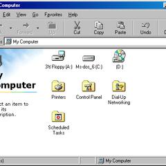 My Computer in Windows 98