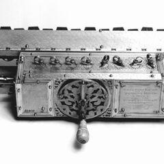 <b>1674-</b> ottfried Wilhelm Leibniz's calculator mechanized multiplication as well as addition