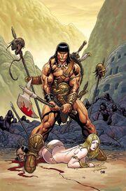 Conan the Cimmerian -1 Frank Cho