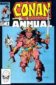Conan the Barbarian Annual Vol 1 8