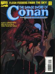 Savage Sword of Conan Vol 1 223