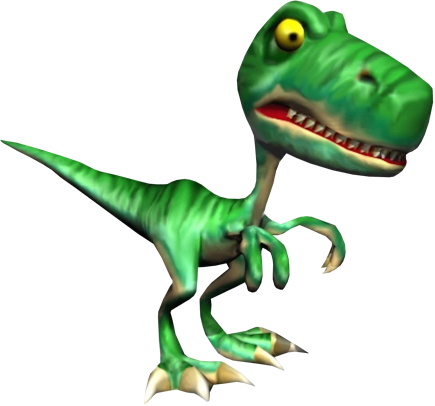 File:Fangy the Raptor (Conker's Bad Fur Day).png