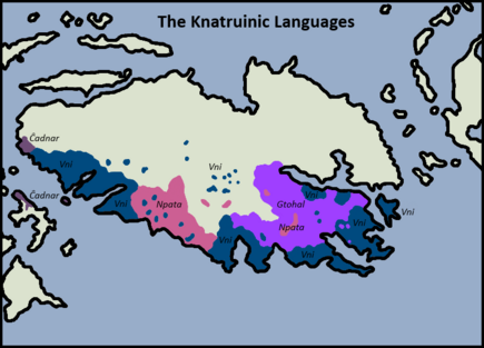 Knatruinic Languages