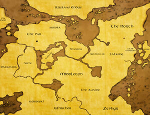 Bellevoire Map old