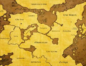 Bellevoire Map old