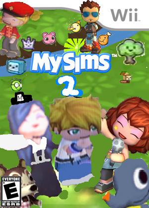 MySims 2 Boxart1