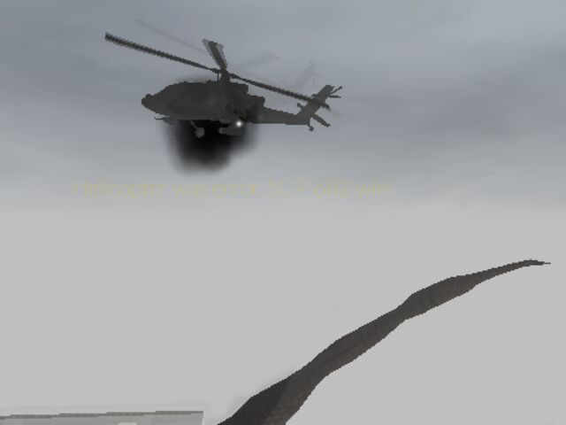 File:SCP-682's Hand can be seen attacking a helicopter.jpg