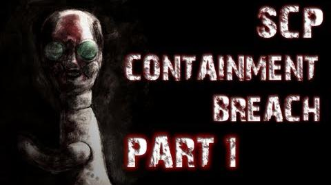 SCP Containment Breach Part 1 A TERRIFYING START-0