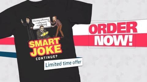NEW Smart Joke Tee! *Limited Time*