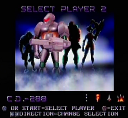 Contra Legacy of War Player Select CD-288