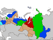 Map of Lappi Subjects labeled