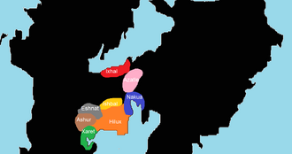 Tribes of middle thietia