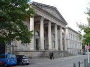 Leineschloss - seat of Landtag Deutsches Niedersachsens and Tag der Vereinigte Sachsische Staaten