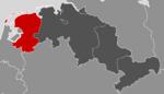 Location of Dutch Lower Saxony