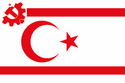 Flag of the Turkish Democratic Republic of Northern Cyprus