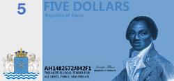 5 Kanian dollars