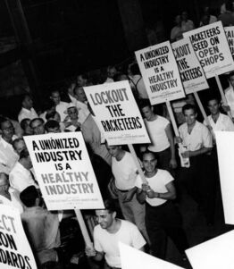 Historic-industrial-union-protest