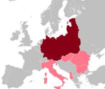 Location of Nazi Germany (SWM)