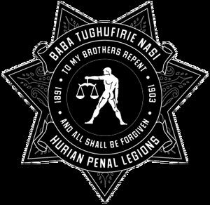 Emblem of the Hurian Penal Legions