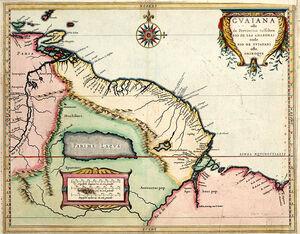 Great Guayana in 1625