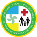 Seal of the Ivalician Department of Health and Humanities.png