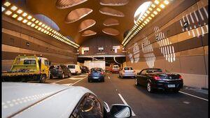 I-95U Cap Haitien Tunnel Exit
