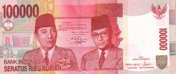 Indonesia 2004 100000r o