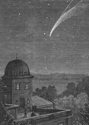 Observing the Comet over Rome