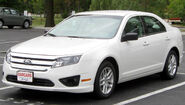 2nd Ford Fusion S -- 09-27-2010