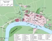 Londonuim and Lyndow map