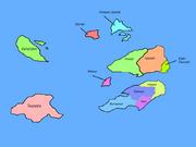 Colot World Map